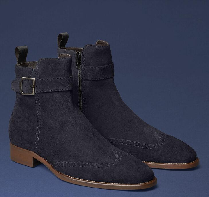 Cormac Wingtip Zip Boot