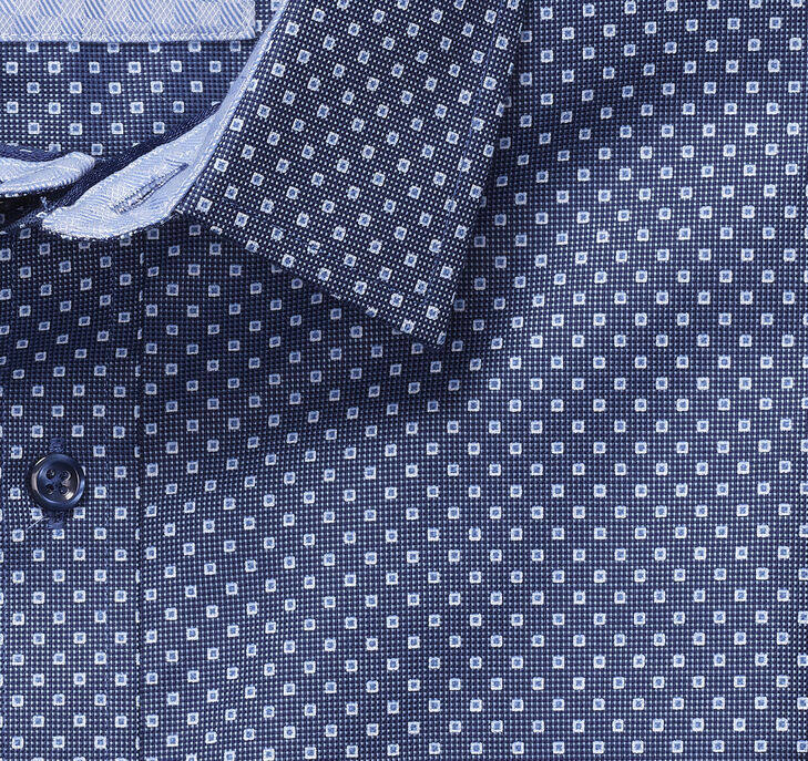 European Micro Square Shirt