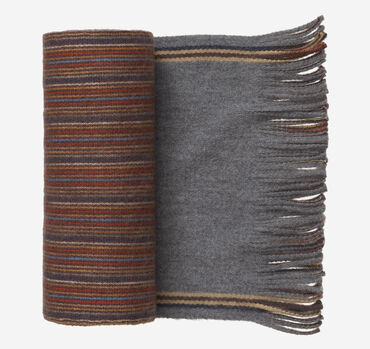 Reversible Multi-Stripe Scarf