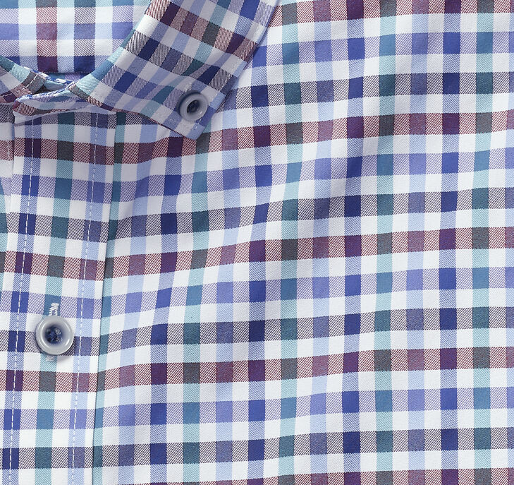 XC4 Multi Gingham Button-Collar Shirt