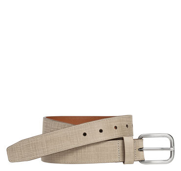 Cross Hatch Embossed Belt