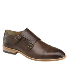 Vance Double-Buckle Monk Strap