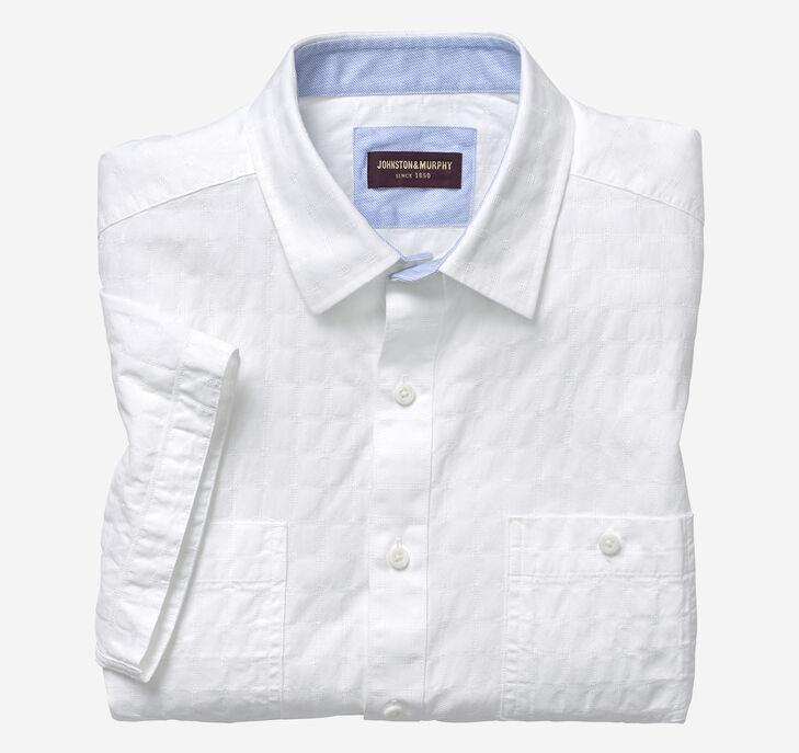 Washed Short-Sleeve Shirt