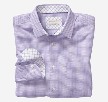 Collection Linked Grid European Dress Shirt