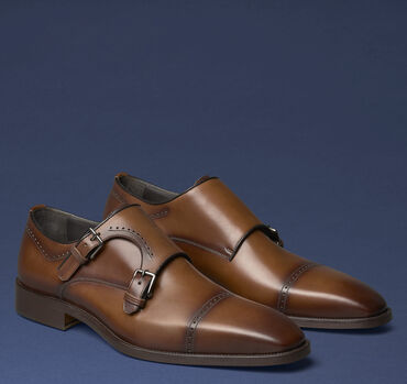 Parkes Cap-Toe Double Buckle