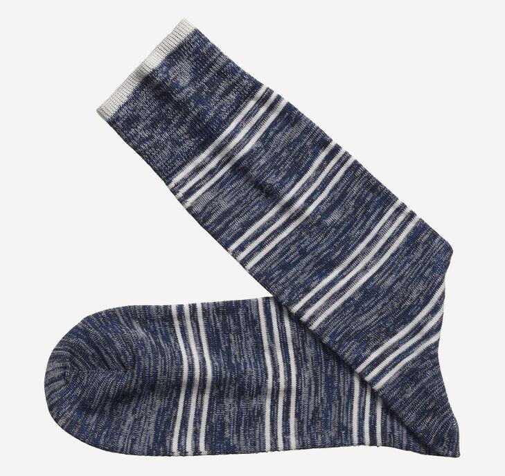 Heather Stripe Socks