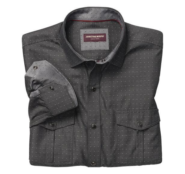 Dot Star Snap-Front Shirt