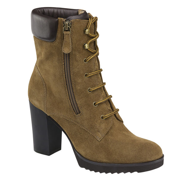 Rochelle Lace-Up Bootie