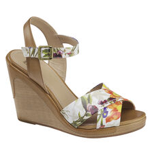 Maren Cross Band Wedge