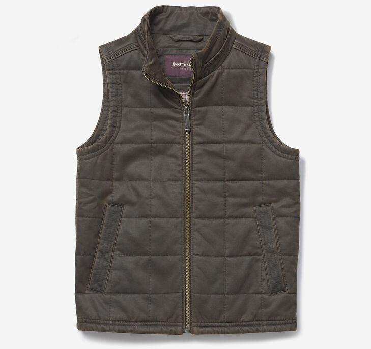 Boys Antiqued Cotton Vest