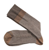 Cotton-Blend Heathered Socks