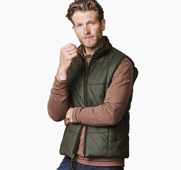 Waxed Cotton Vest