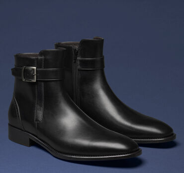 Cormac Buckle Zip Boot