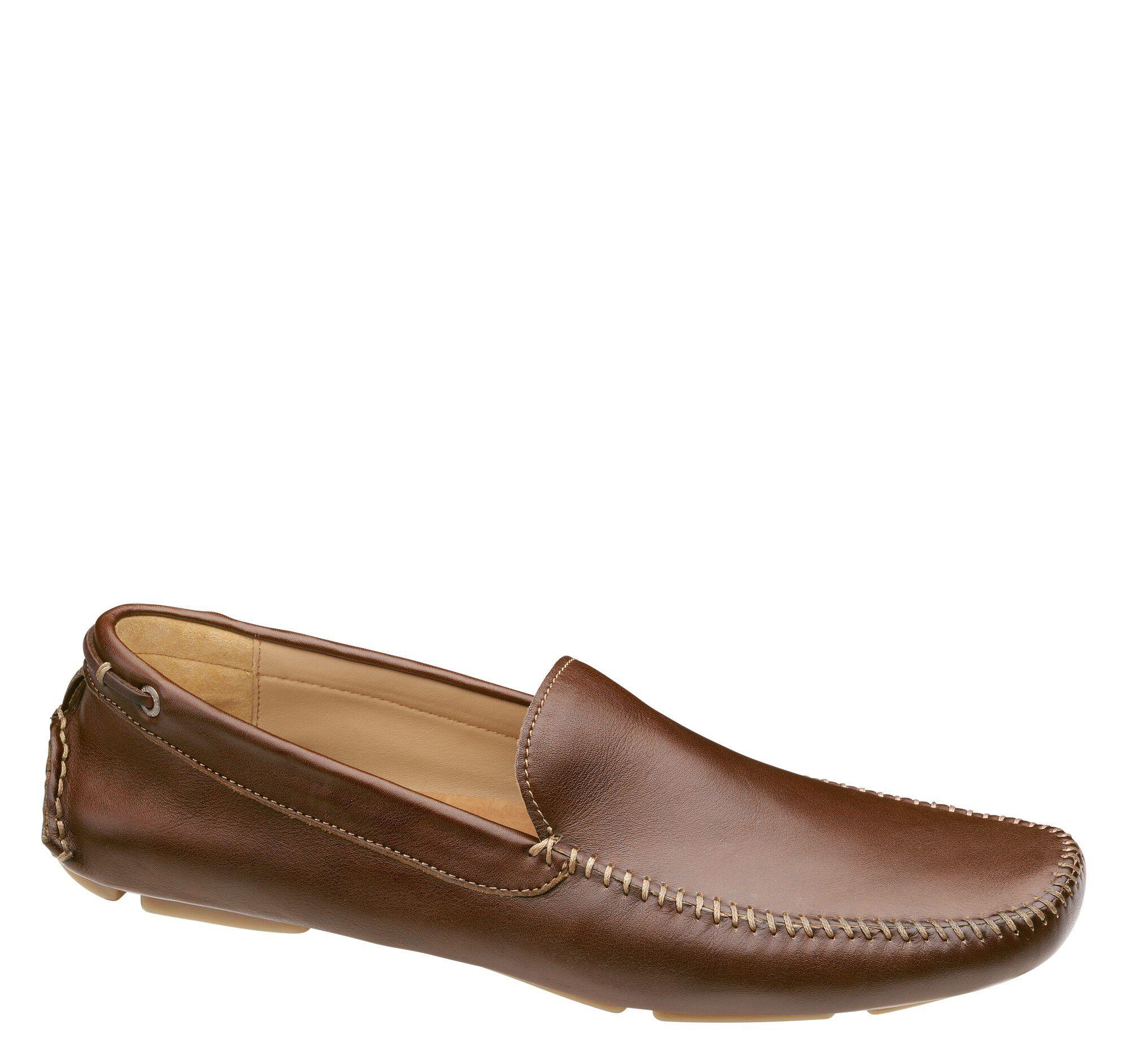 Mckinnon Venetian Johnston Murphy D Island Shoes Slip On Mocasine Casual Loafers Black