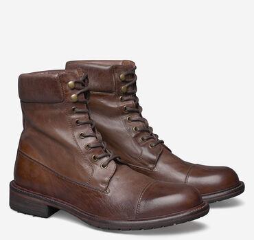 Lofting Cap-Toe Boot