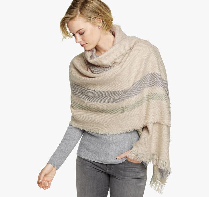 Herringbone Blanket Scarf