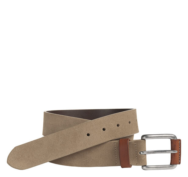 Straight-Edge Casual Belt