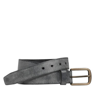 Diamond-Fleck Embossed Belt