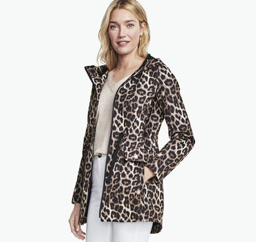 Animal-Print Soft Shell Jacket