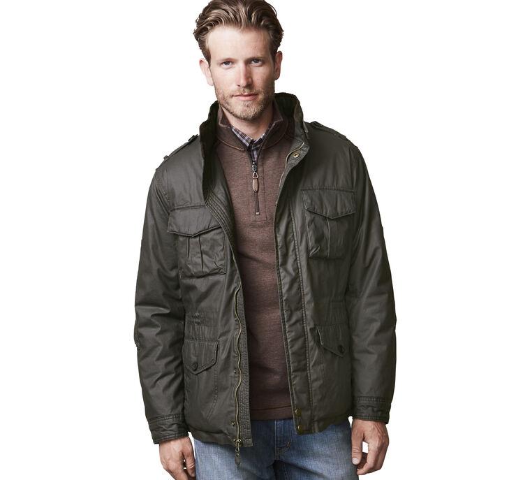 Waxed-Cotton Field Jacket