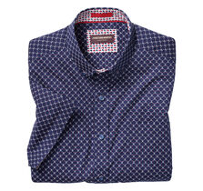 Anchor Diamond Print Short-Sleeve Shirt