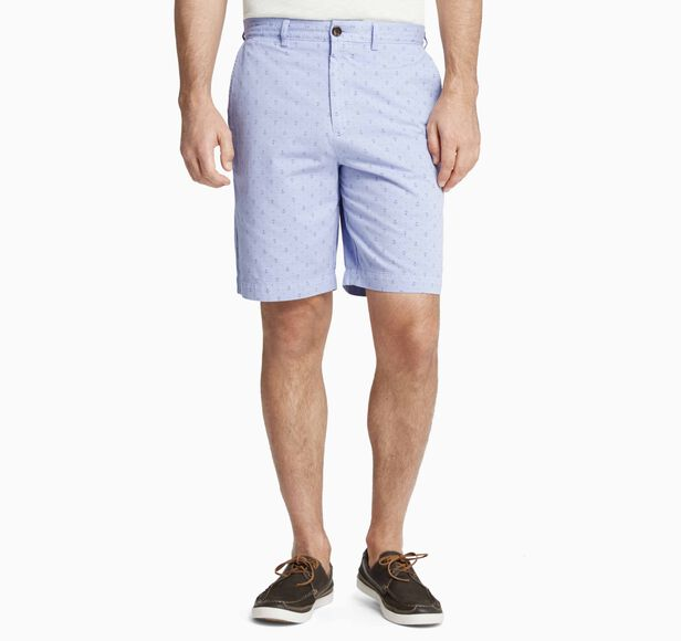 Anchor-Print Shorts