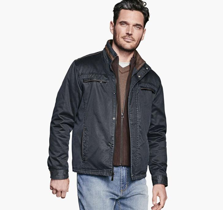 Antiqued-Cotton Jacket