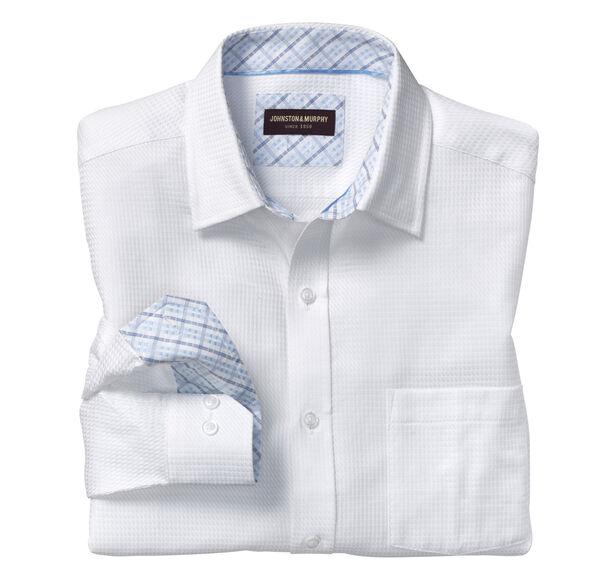 Tonal Angled Triangle Neat Shirt