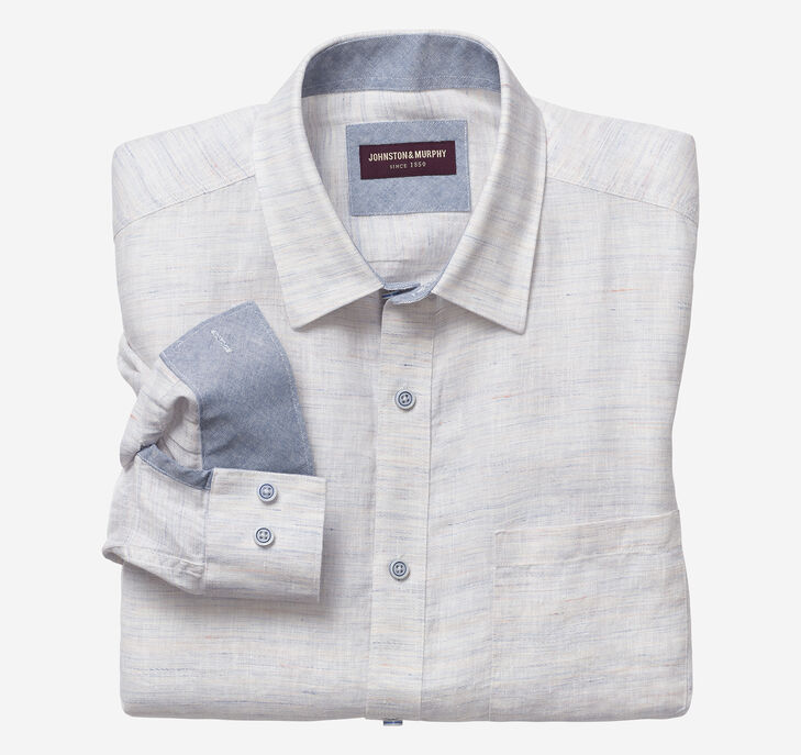 Washed Linen Shirt
