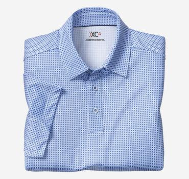 XC4® Tile Print Polo
