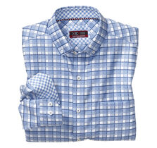 XC4® Framed Check Button-Collar Shirt