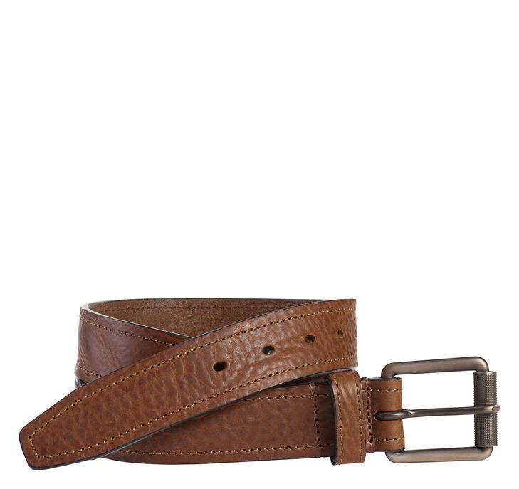 Washed Leather Belt
