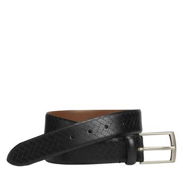 Chevron-Engraved Belt