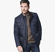 Quilted Four-Pocket Jacket
