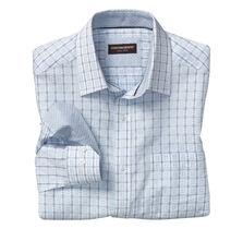 Overlock Windowpane Shirt