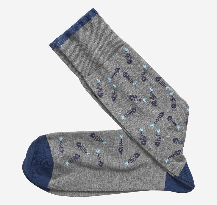 Fishbone Socks