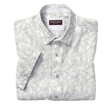 Botanical Linen Camp Shirt