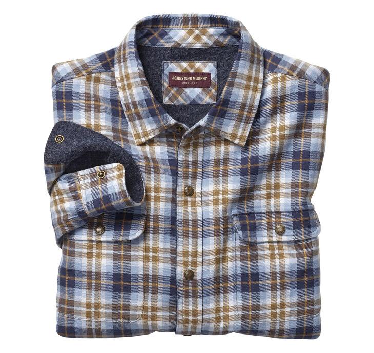 Brushed Shirt Jackets