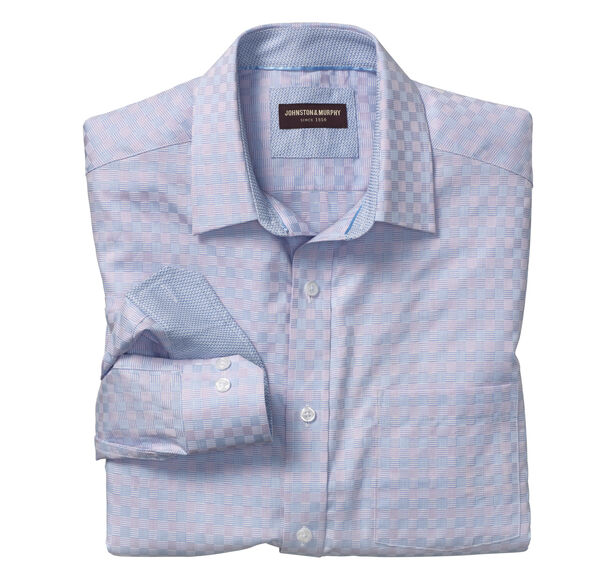Pastel Basketweave Shirt