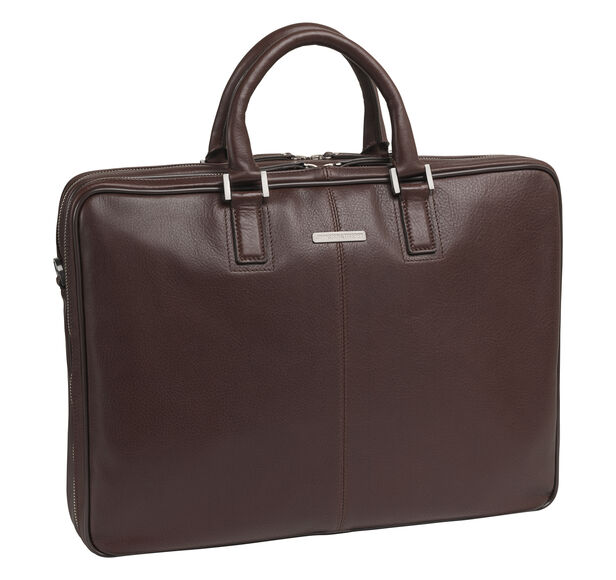 Double-Zip Slimline Briefcase