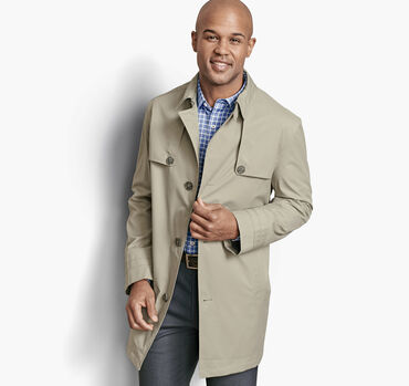 Stretch Twill Trench