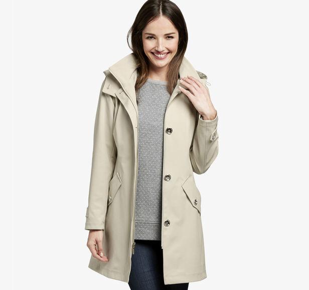Bonded Hooded Jacket