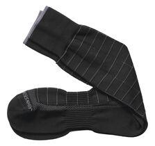 First In Comfort Contrast Windowpane Socks