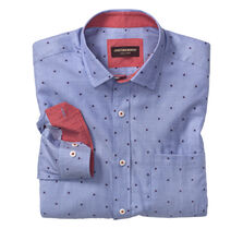 Nautical Clip-Pattern Shirt