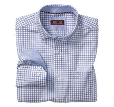 XC4® Quad Track Windowpane Point-Collar Shirt