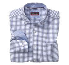 XC4® Quad Track Windowpane Point-Collar Shirt