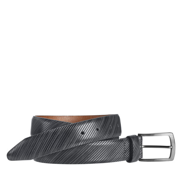 Diagonal-Etched Belt