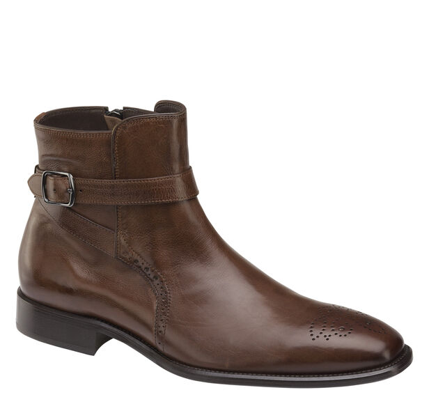 Maxwell Buckle Zip Boot
