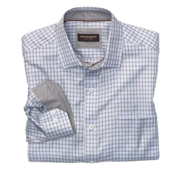 Framed Twill Square Shirt