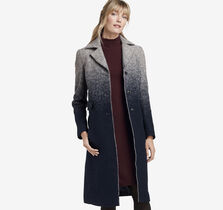 Ombre Wool Coat